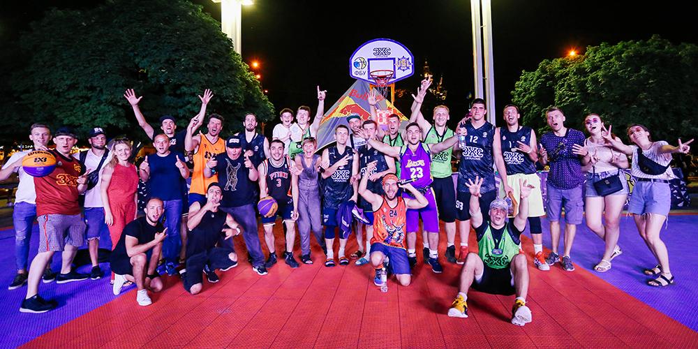 У Харкові 15 червня пройшов масовий турнір з баскетболу 3х3