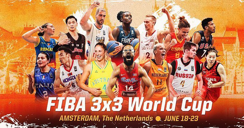 Чемпіонат світу 3х3: онлайн відеотрансляція 18 червня