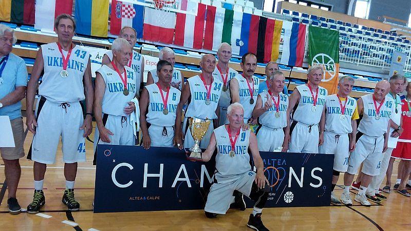 Українські ветерани зібрали повний комплект медалей чемпіонату Європи