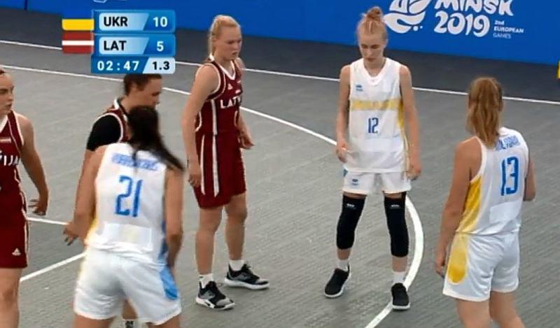 Жіноча збірна України 3х3 переможно стартувала на Європейських іграх