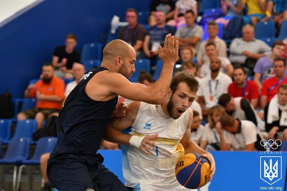 Чоловіча збірна України впевнено перемогла Італію та очолила групу на Європейських іграх