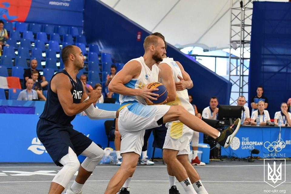 Збірна України поступилась Росії в заключному матчі групового раунду Європейських ігор
