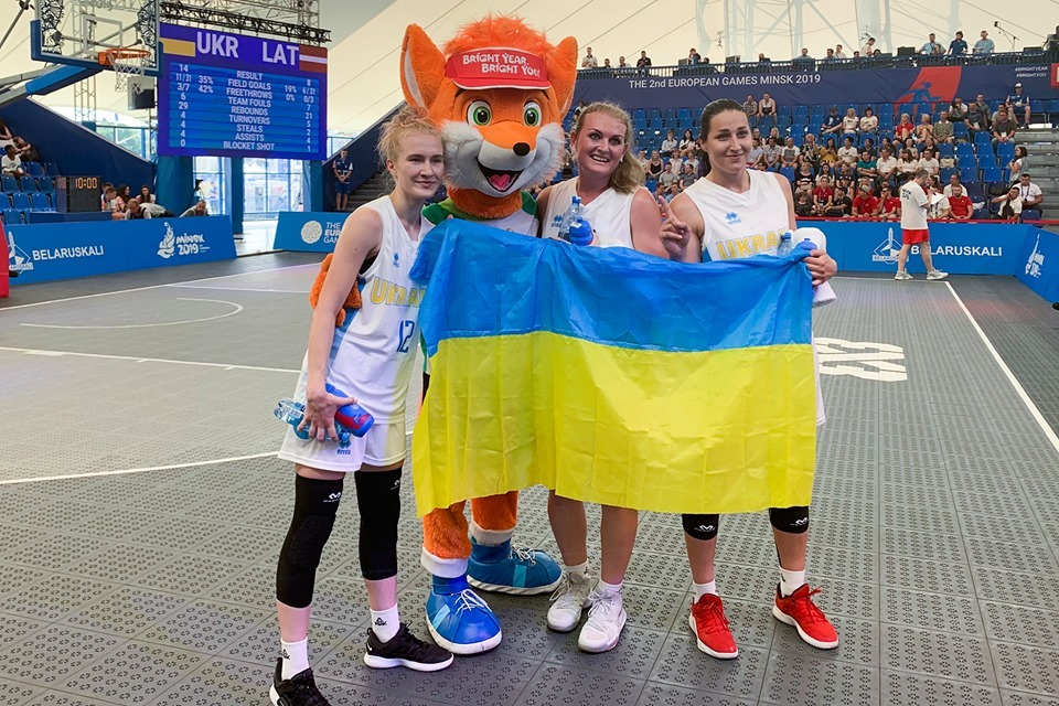 Жіноча збірна України 3х3 перемогла Іспанію на Євроіграх