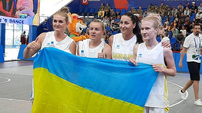 Жіноча збірна України 3х3 не пробилася в чвертьфінал Євроігор