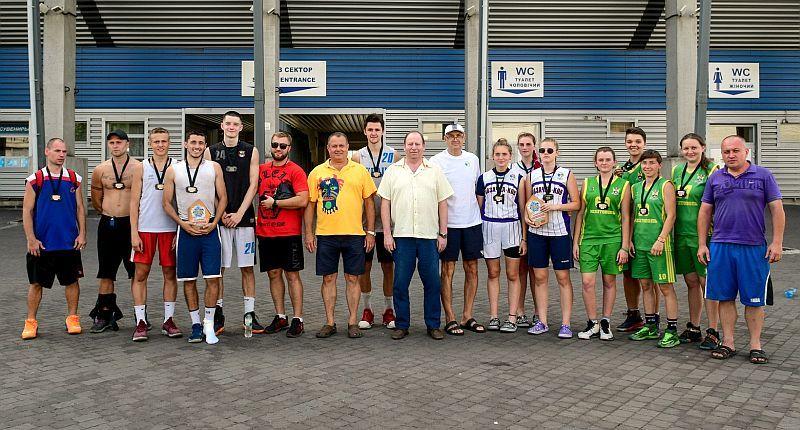 Визначилися переможці БК Запоріжжя Streetball CUP
