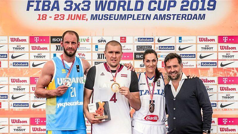 Українець Тимофеєнко став другим у конкурсі влучності на чемпіонаті світу 3х3