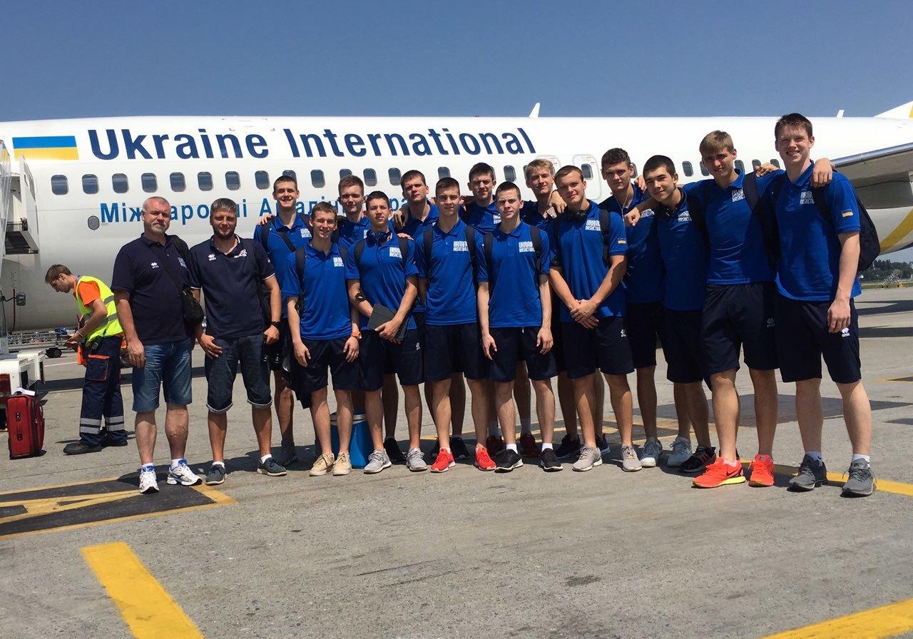 Чоловіча збірна України U-18 відправилась на контрольні матчі в Чехію