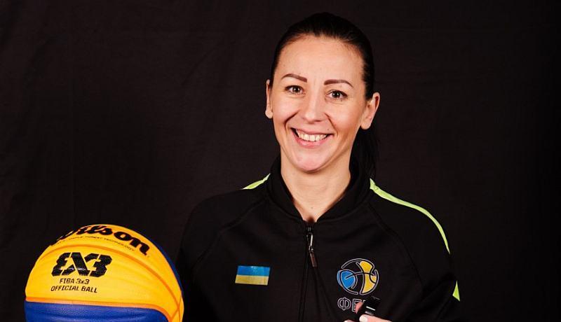 Українка Монзуль судитиме матчі кваліфікації чемпіонату Європи 3х3 у Києві