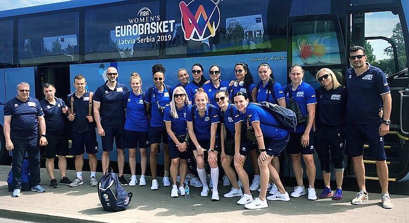 Збірна України прибула на чемпіонат Європи до Риги