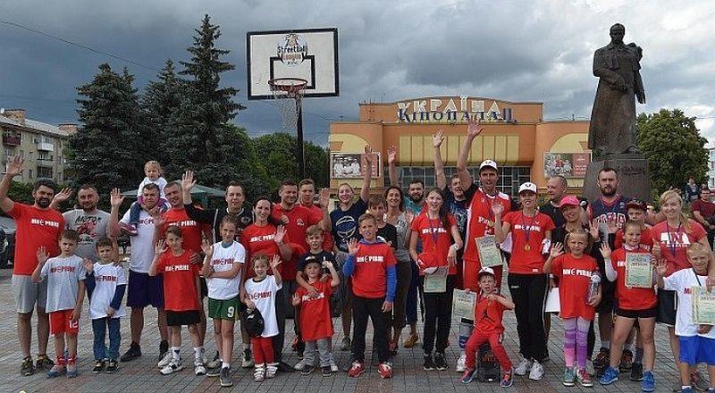 У Рівному відбудеться сімейний баскетбольний турнір