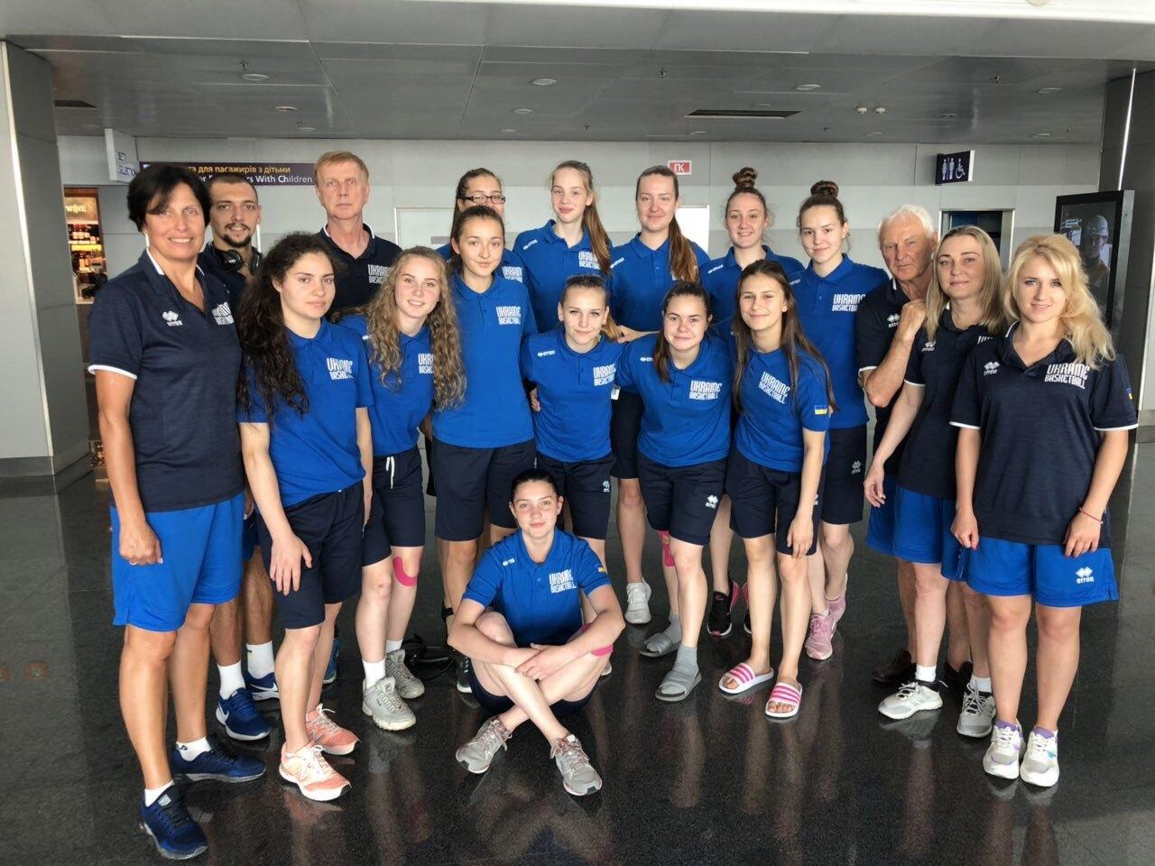 Жіноча збірна України U-18 відправилась на турнір в Італію