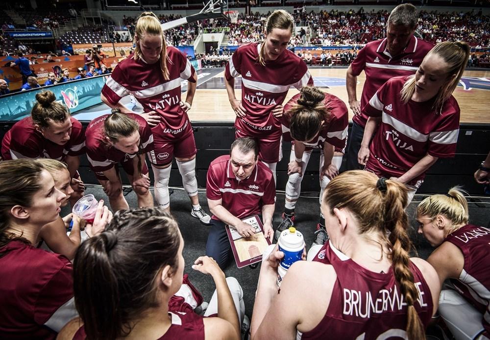 Латвійські баскетболістки розповіли як будуть налаштовуватися на матч зі збірною України