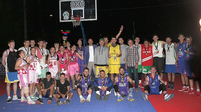 У Хмельницькому відбувся турнір з баскетболу 3х3