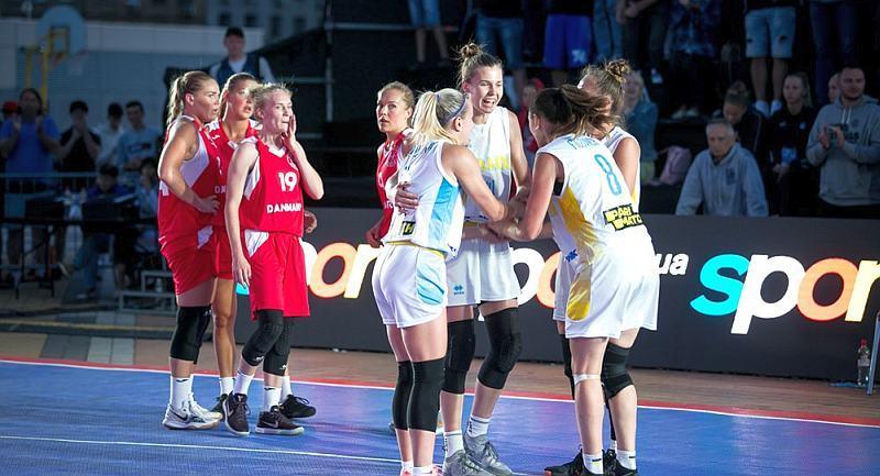 Збірні України в кваліфікації чемпіонату Європи 3х3: фотогалерея