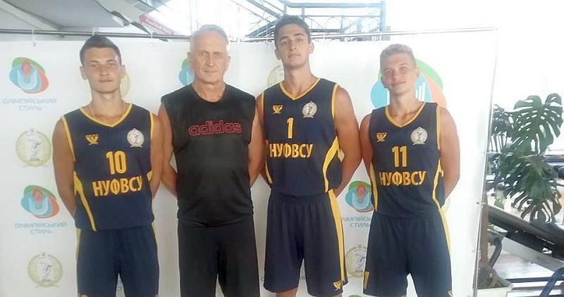 НУФВСУ запрошує молодих баскетболістів на навчання