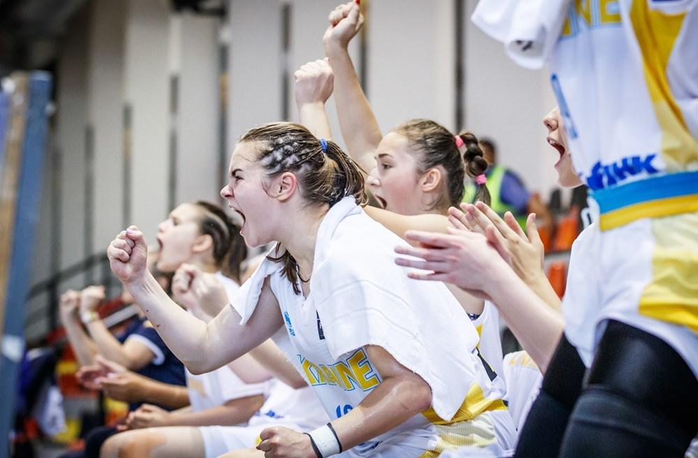 Жіноча збірна України U-18 стартувала на Чемпіонаті Європи