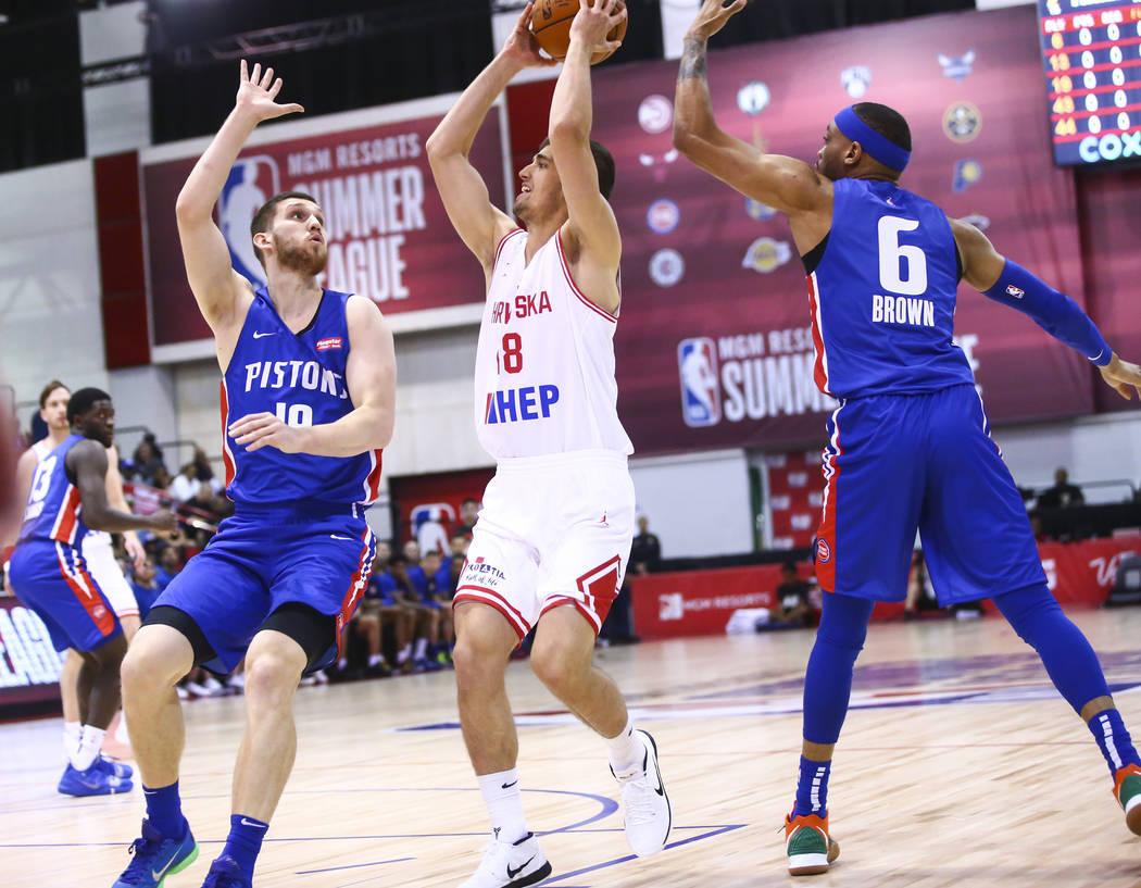 Святослав Михайлюк стартував у літній лізі НБА