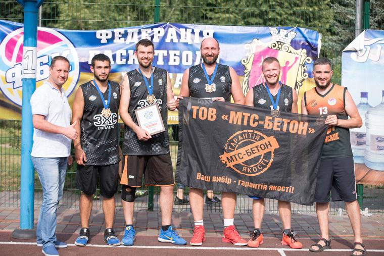 У Кам'янському відбувся турнір з баскетболу 3х3