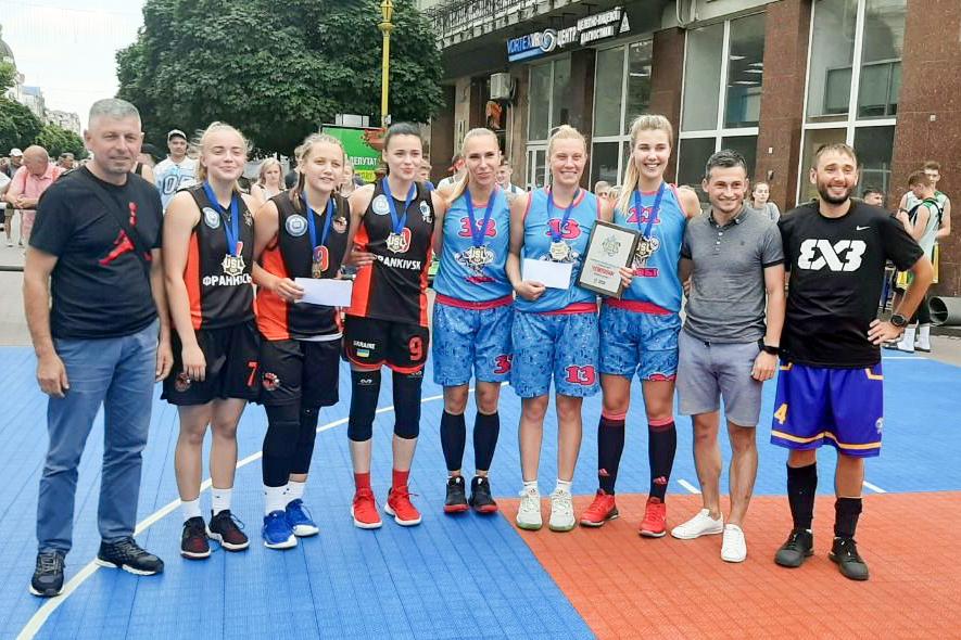 Визначено переможців турніру з баскетболу 3х3 Frankivsk Open