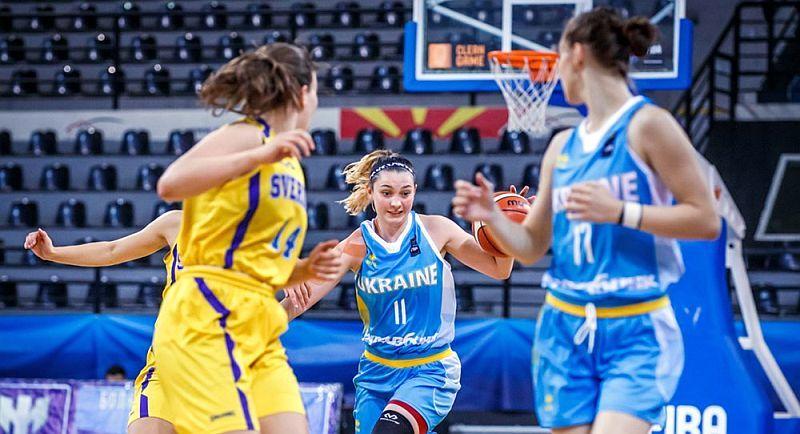 Жіноча збірна України U-18 програла Швеції на чемпіонаті Європи
