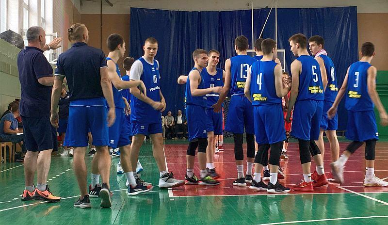 Чоловіча юніорська збірна перемогла в Білорусі