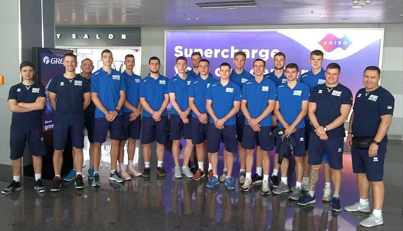 Молодіжна збірна U-20 вирушила на чемпіонат Європи