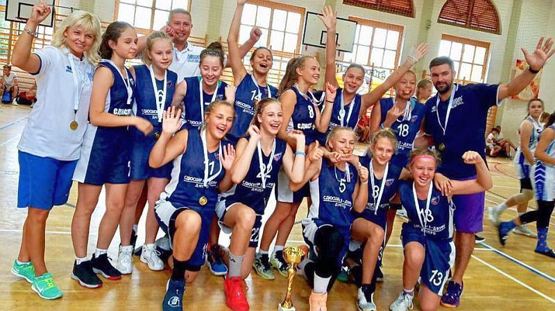 Баскетболістки з Дніпра перемогли на міжнародному турнірі