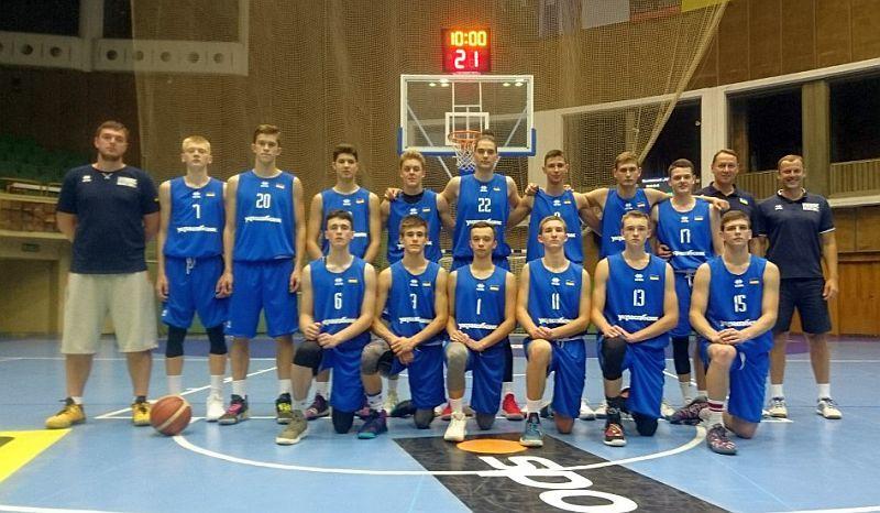 Збірна України U-16 поступилася македонцям