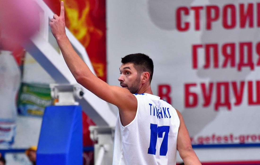 Олександр Тищенко став гравцем Київ-Баскета