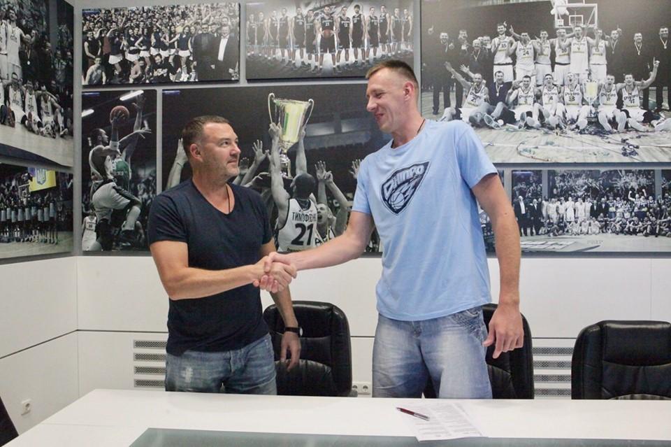 Максим Корнієнко: сподіваюсь, нарешті виграємо з Дніпром чемпіонат