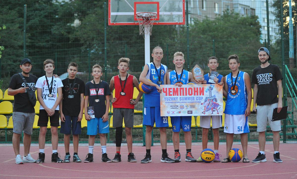 В Южному відбувся турнір з баскетболу 3х3