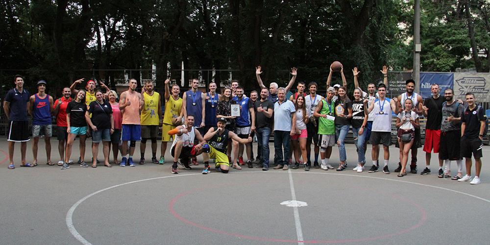 В Одесі 20 липня пройшов традиційний турнір з баскетболу 3х3