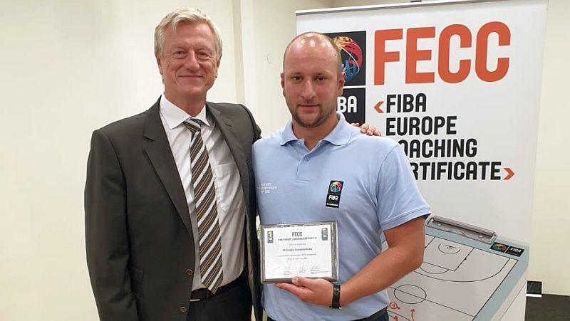 Український тренер Коломійченко отримав диплом школи ФІБА