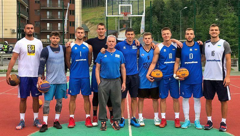 Збірна України U-23 з баскетболу 3х3 готується до Ліги націй