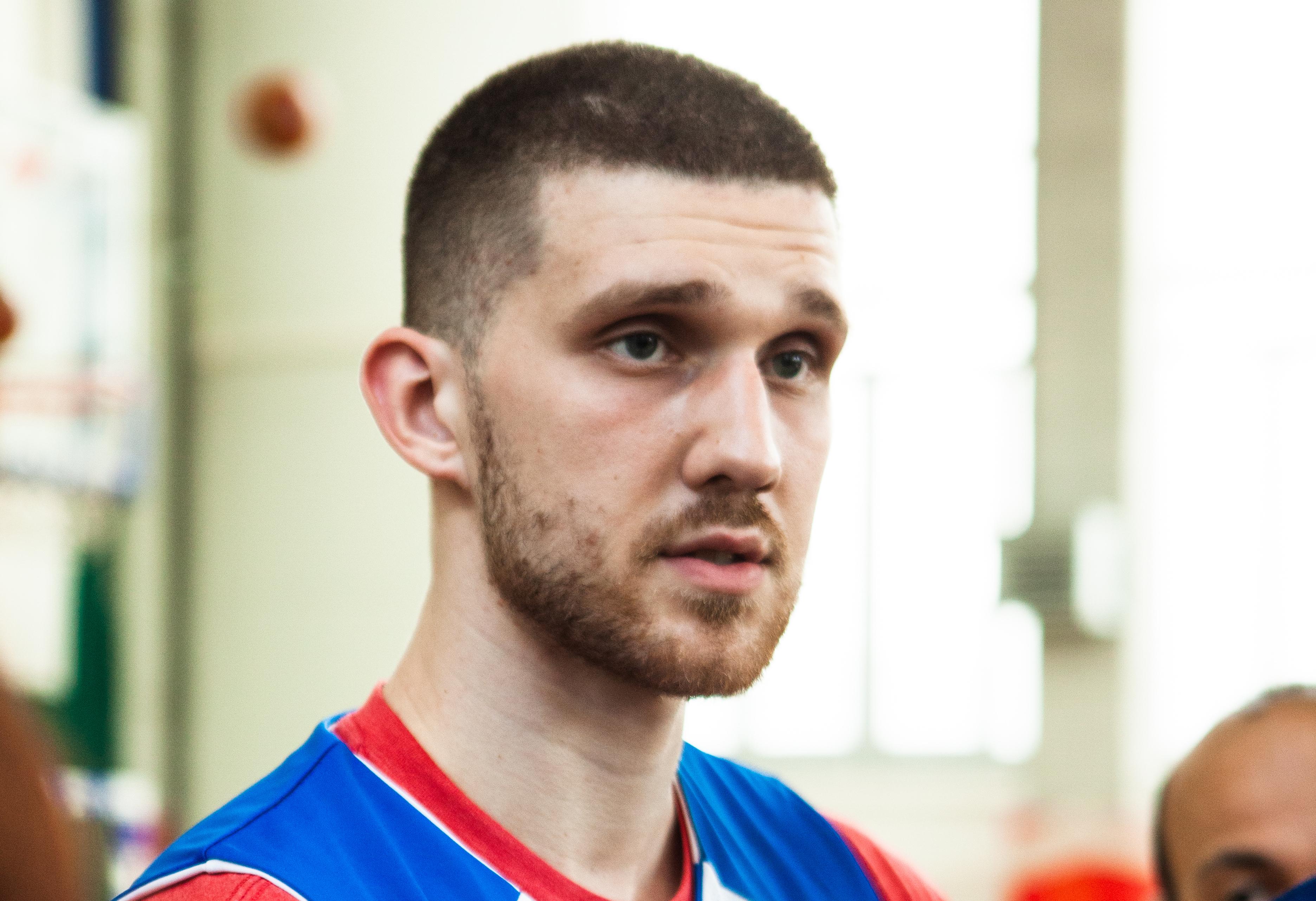 Святослав Михайлюк: приїхав, щоб познайомитись із тренером і краще підготуватись до сезону
