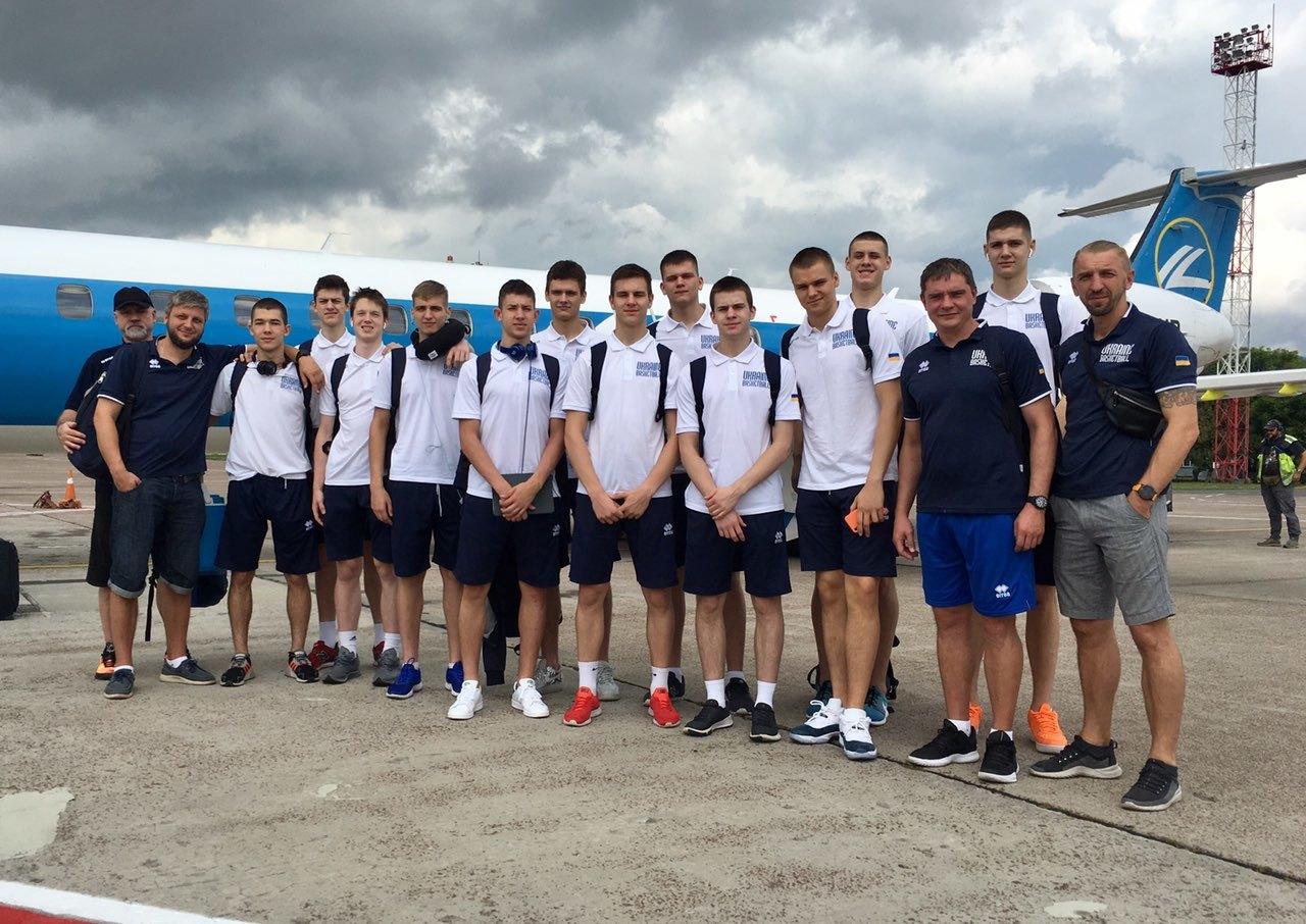 Чоловіча збірна України U-18 відправилась на чемпіонат Європи в Румунію