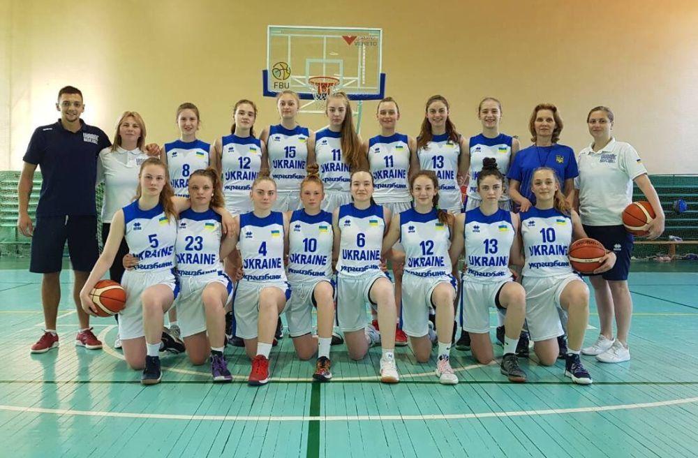 Жіноча збірна України U-16 перемогла у спарингу Білорусь