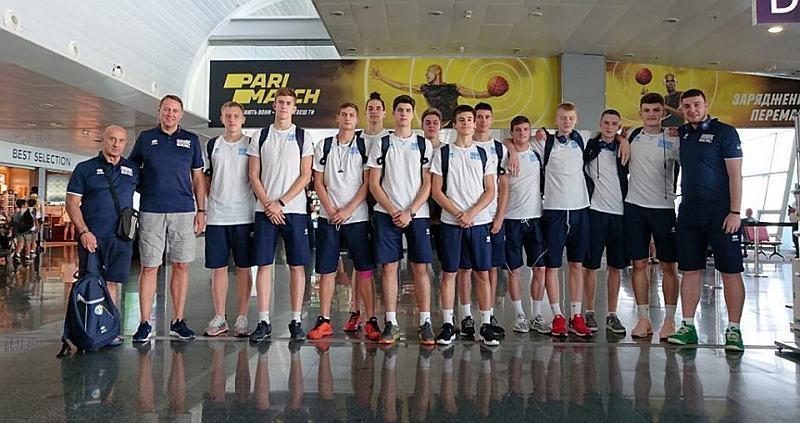 Кадетська збірна U-16 вирушила до Італії