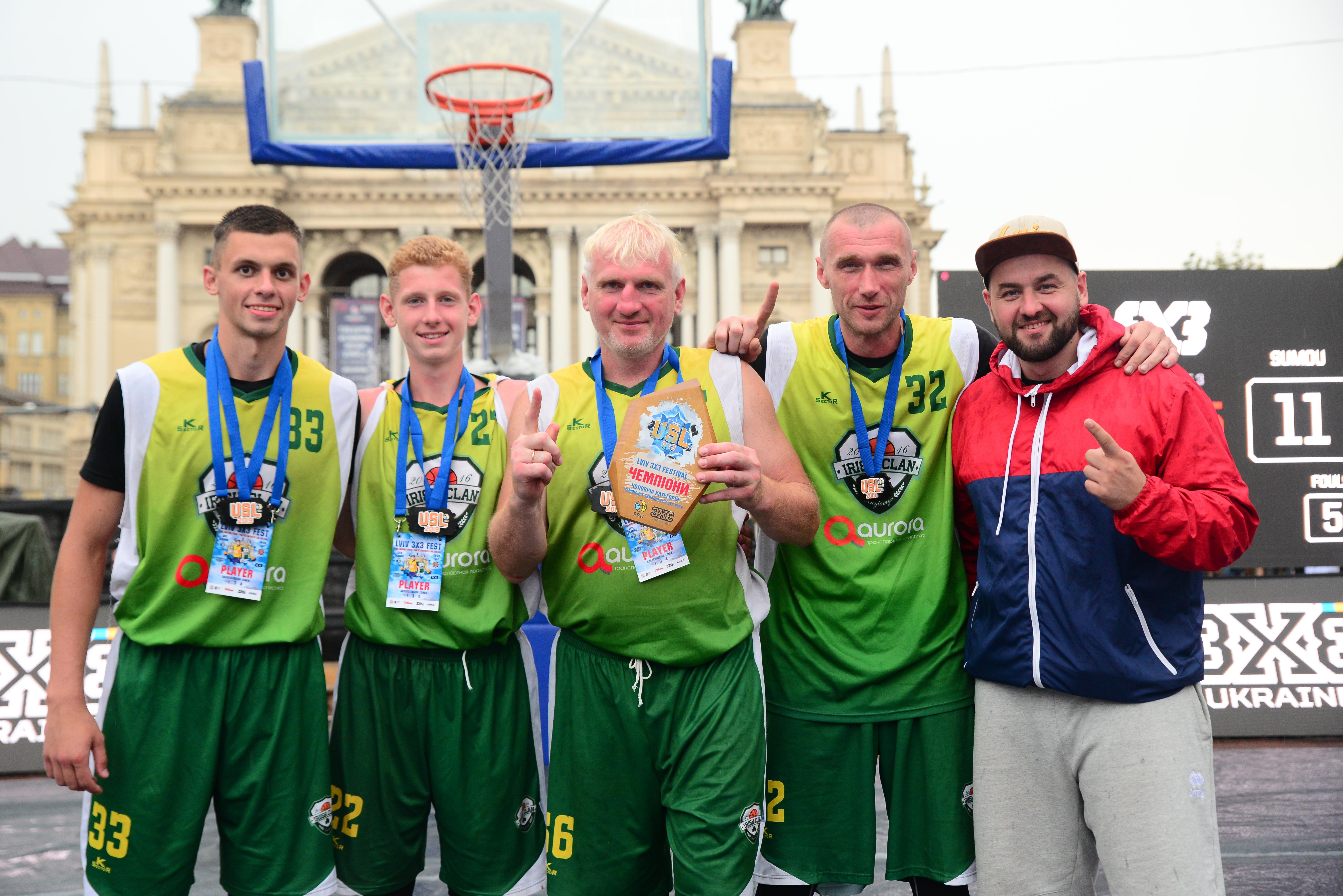 Визначилися переможці Lviv 3x3 Fest у чоловіків та жінок