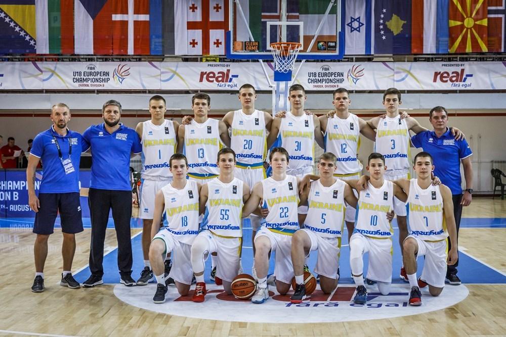 Збірна України U-18 третя в групі чемпіонату Європи