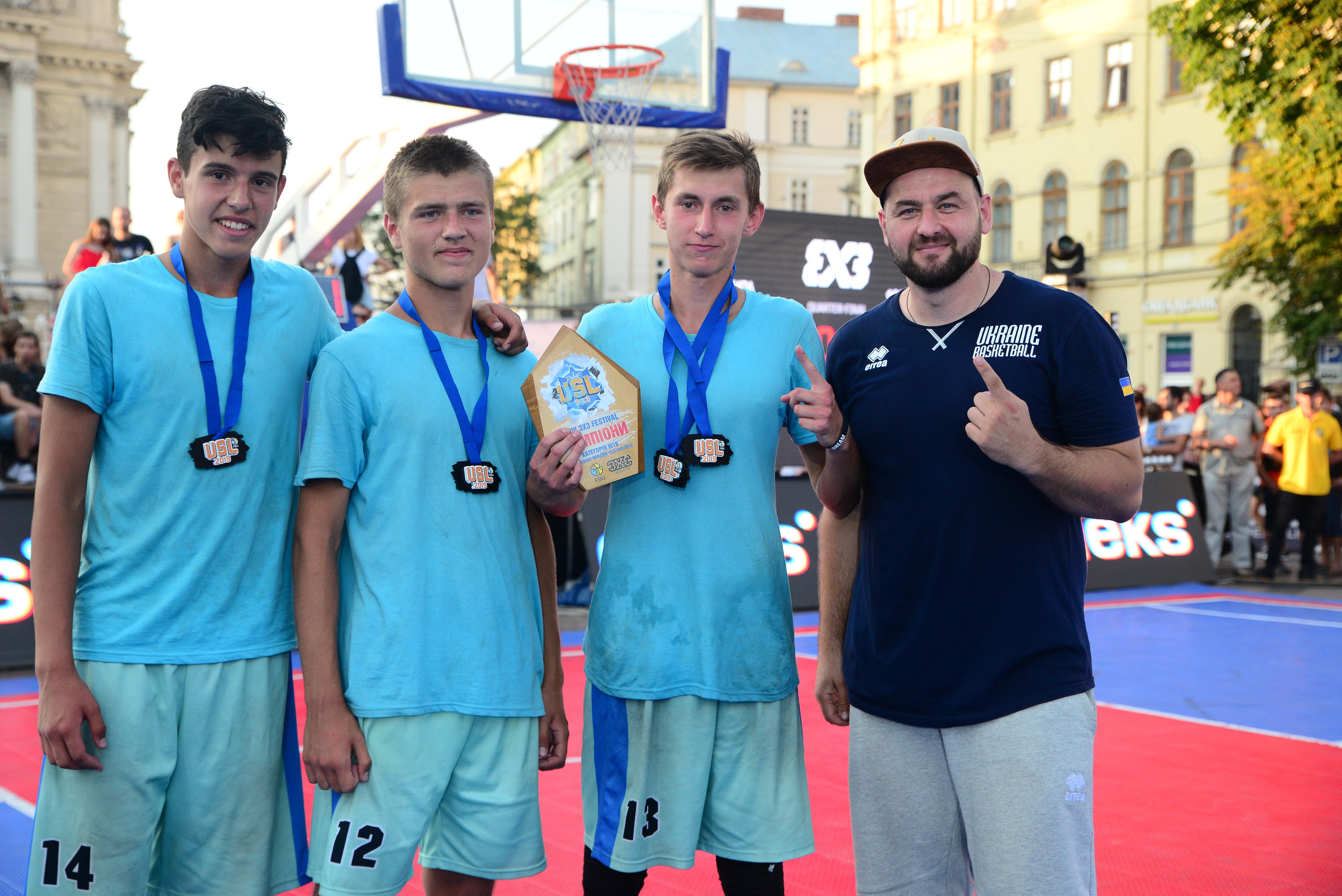 Визначено переможців категорій U-16 та U-18 на Lviv 3x3 Fest