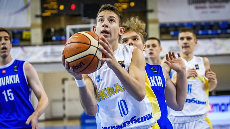 Збірна України U-18 зіграє за 9-16 місця чемпіонату Європи