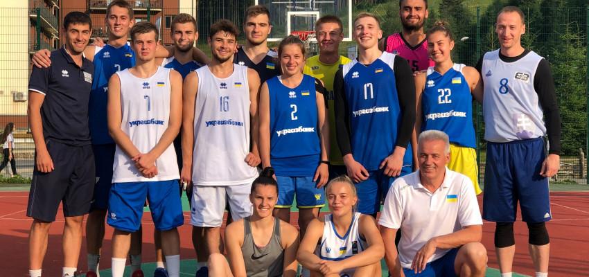 Збірні України 3х3 зіграють на етапах Ліги націй U-23 в Угорщині