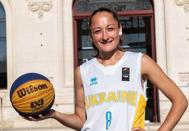 Капітан жіночої збірної України 3х3 підписала контракт з Київ-Баскетом