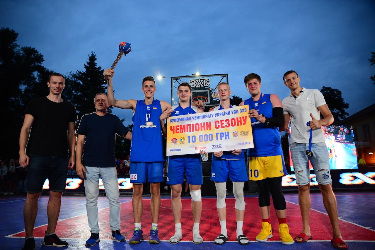 Визначились переможці Суперфіналу чемпіонату України УСЛ 3х3