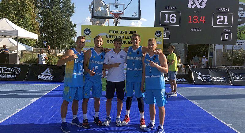 Чоловіча збірна України перемогла на четвертому етапі Ліги націй U-23