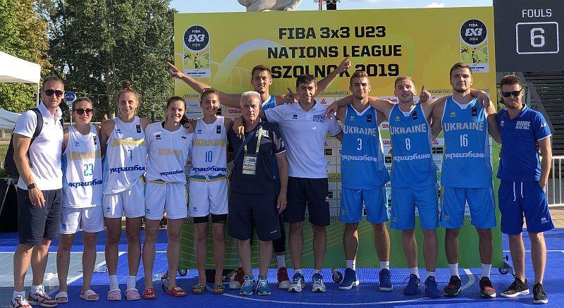 Збірні України захопили лідерство в Лізі націй U-23