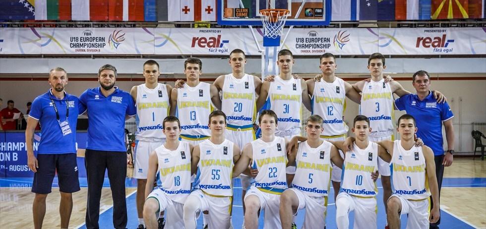 Збірна України U-18 посіла дев'яте місце на чемпіонаті Європи