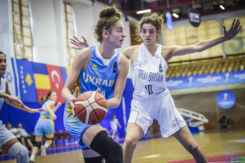 Жіноча збірна України U-20 поступилась Великій Британії