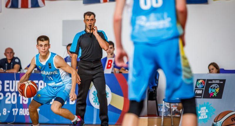 Збірна України U-16 четверта в групі на чемпіонаті Європи